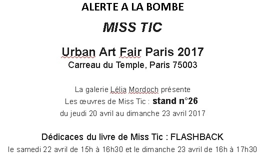 Urban art fair 2017 texte