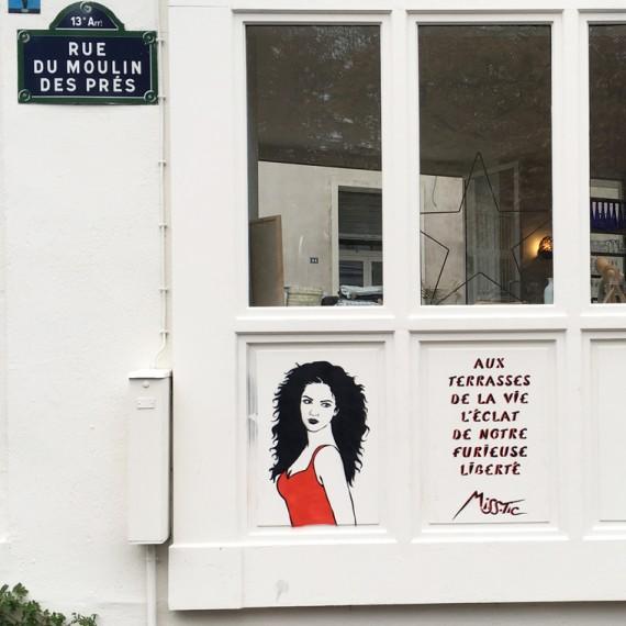 Paris rue du moulin des prés