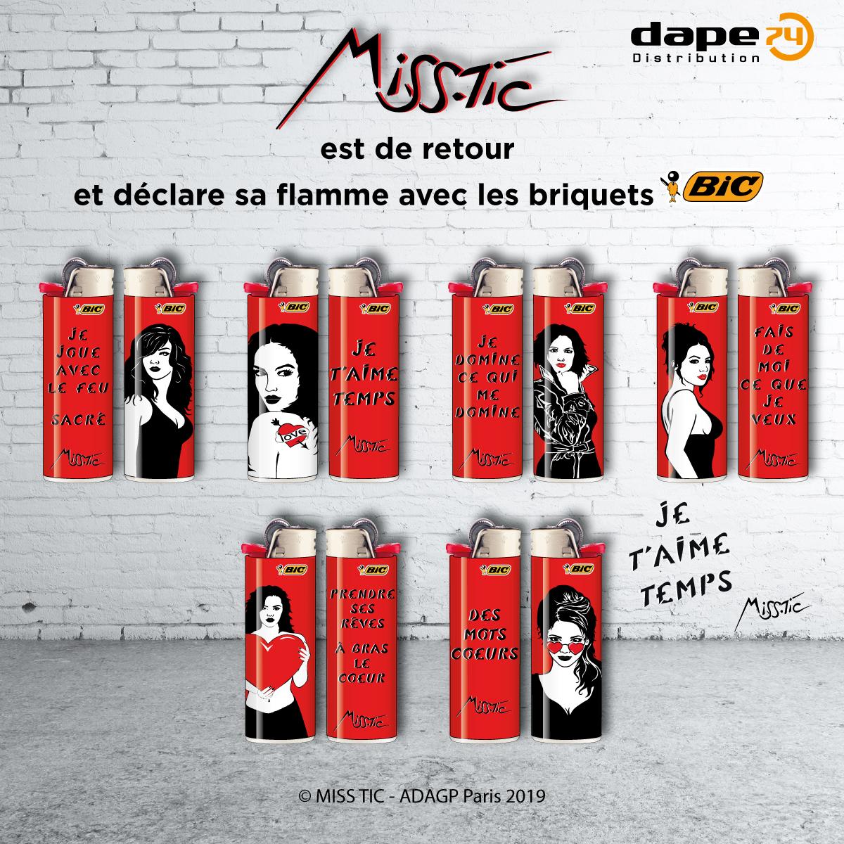 BIC Briquet Rouge COM